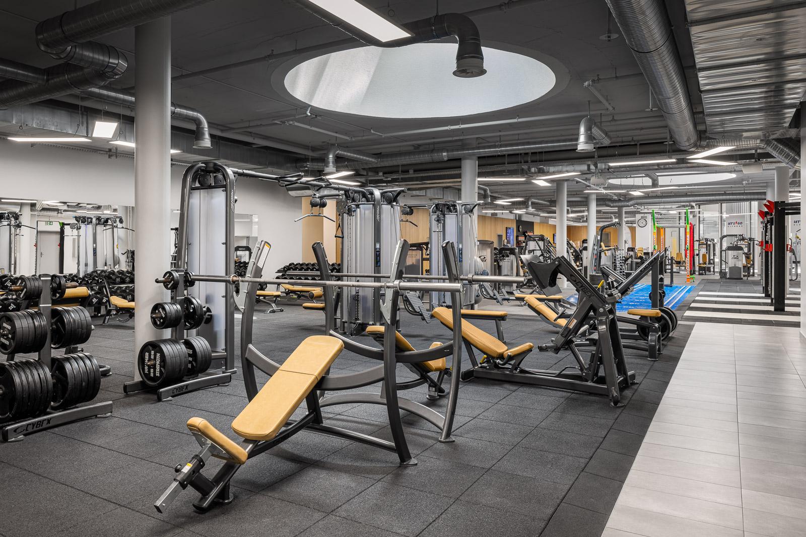Let's Go Fitness Lausanne-Flon ©Jerome Vodoz Photographie